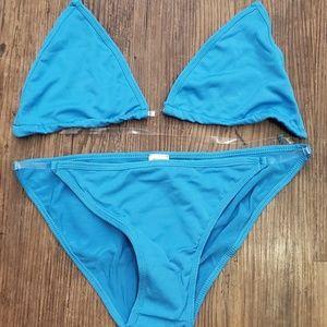 Clear strap Bikini